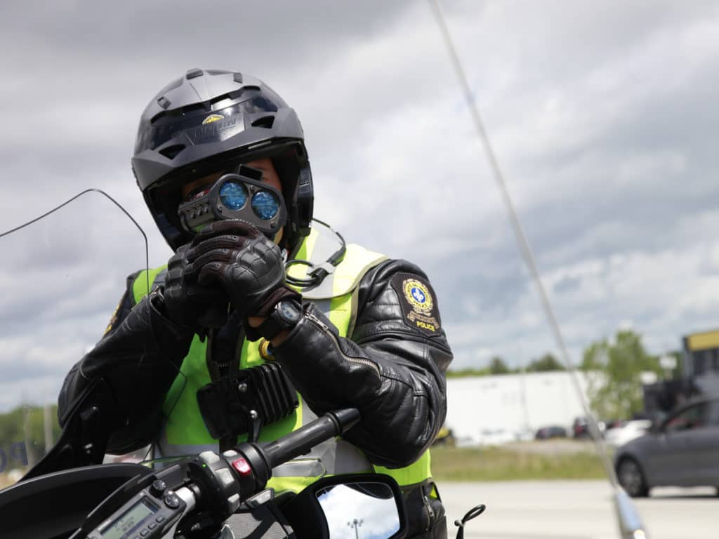 356 constats d'infractions remis par les policiers