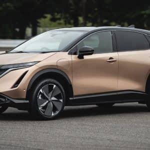 Le Nissan Ariya 2022